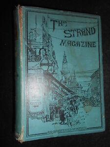 The-Strand-Magazine-X-A-Conan-Doyle-Brigadier-Gerard-Louis-Wain-1895-1st