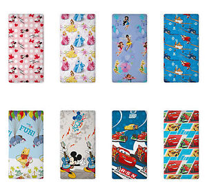 Minnie-Mickey-Mouse-Princess-Fairies-Pooh-Bettlaken-90-x-200-cm