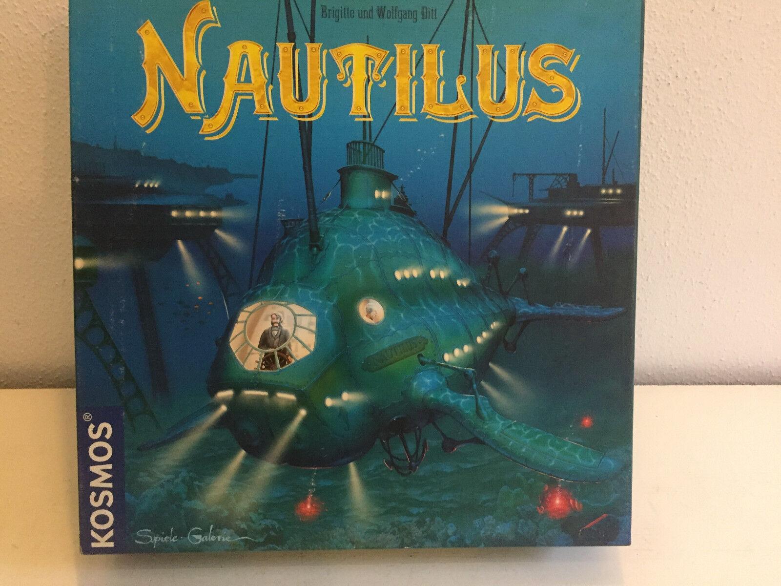Nautilus brettspiel von kosmos in neuwertigem 100% komplettem ihr scifi
