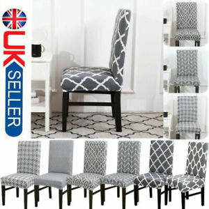 Amazing Details About Elastic 4 6 Dining Chair Covers Seat Slipcovers Kitchen Chair Protective Covers Pabps2019 Chair Design Images Pabps2019Com
