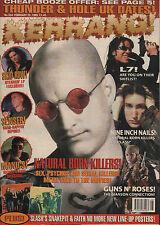 Woody Harrelson on Kerrang Cover 1995    Slash's Snakepit    Senser