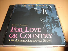 HBO films FOR LOVE OR COUNTRY Arturo Sandoval Story promo CD soundtrack cd-r