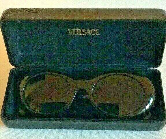 GIANNI VERSACE Vintage Sunglasses In Original Case - image 4