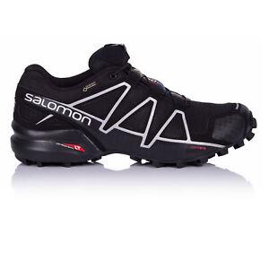 Salomon-Speedcross-4-Mens-Black-Gore-Tex-Waterproof-Running-Shoes-Trainers