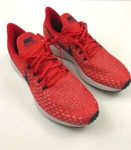2a726494730 Nike Air Zoom Pegasus 35 Men s 11 Habanero Red Blackened Blue 942851 ...