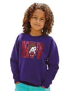 Haters Back Off NLT Myranda Sings Purple Sparkle Sweatshirt