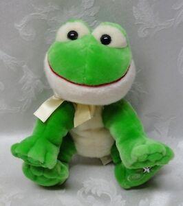 "Shining Stars 10"" FROG No Code 2006 Russ Berrie Plush Stuffed Toy Plush EUC"