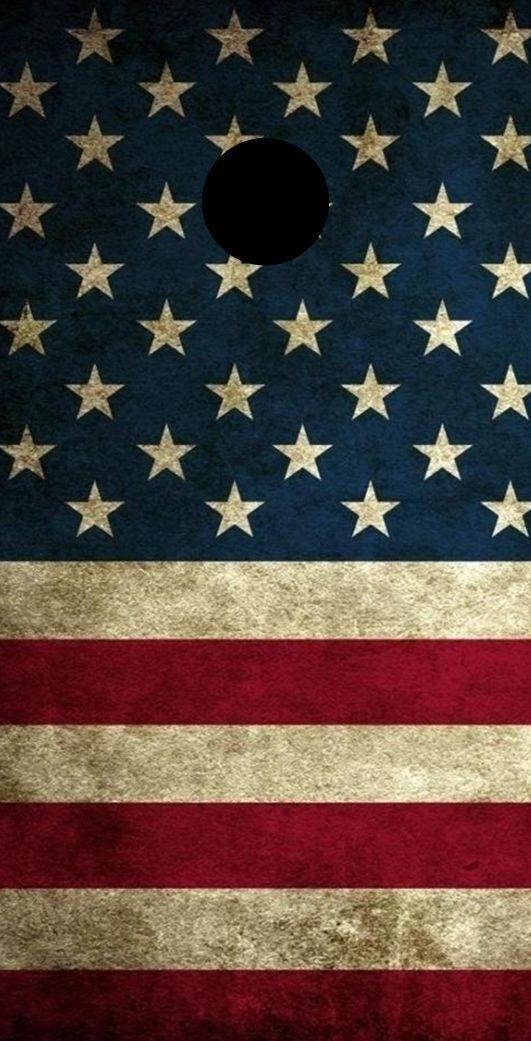 American Flag Theme Cornhole Board Prints   Wraps   Corn Hole