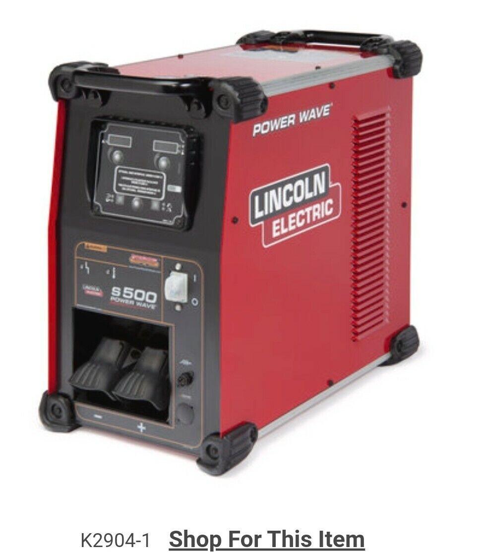 subizzo02 Lincoln electric Powerwave S500 welder welding power unit 2904-1