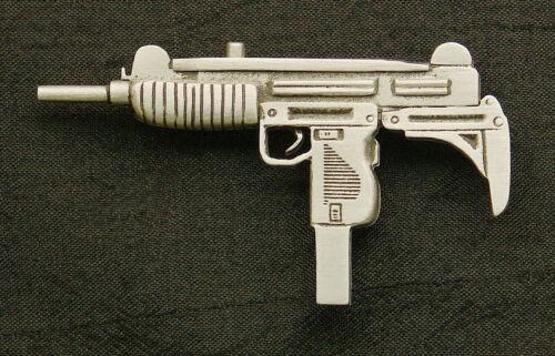 Empire Pewter Uzi Pewter Gun Pin