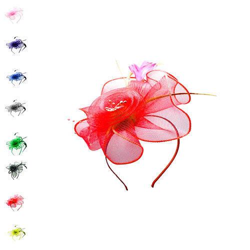 Finecy In Ladies/&Women Wedding Cocktail Race Headband Flower Hat Fascinator
