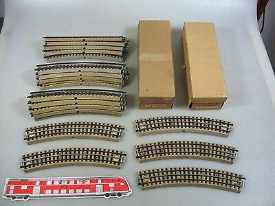 Al151-2# 20x Märklin H0/00/ac Pezzo Di Binario (m-binario) F. 3600/800 M. Mezzi Capo-mostra Il Titolo Originale
