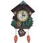 thumbnail 4 - Cuckoo Bird Clock House Wall Hanging Clock Art Home Decor Swing Wall Alarm