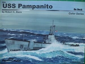 USS-Pampanito-on-Deck-Squadron-Signal-Publ-No-5604-color-series-NEW