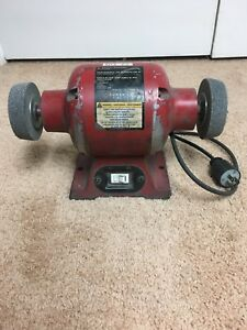 Terrific Details About Sunex Tools 5001A 1 2Hp 3450Rpm 115V 60Hz 6 Bench Grinder Used Bralicious Painted Fabric Chair Ideas Braliciousco