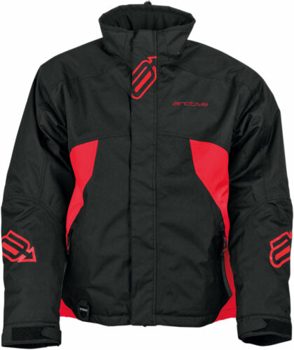 Black//Red Arctiva Snow Snowmobile Men/'s 2018 PIVOT Insulated Jacket M Medium