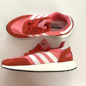 c40a5b93fb Details about adidas Originals Women's I-5923 Running Shoe Pink White Red  CQ2527 Size 9 M US