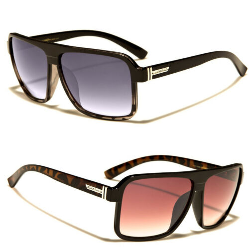 Biohazard Goggle Style Mens Designer Sunglasses with Metal Detail 6 Color Sport