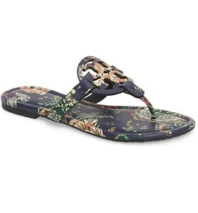 04700d338c5f Image is loading NIB-Tory-Burch-Miller-Sandals-Shoes-HAPPY-TIMES-
