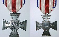 Croix d'Alsace 1940 Réseau Martial - Refrappe de qualité