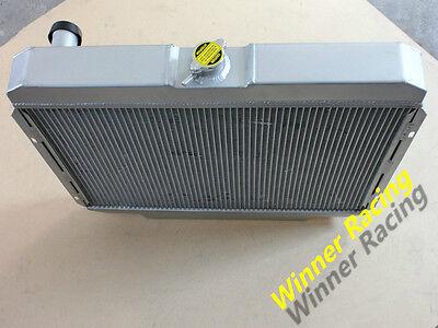 3 ROW RADIATOR FOR FORD MUSTANG,MERCURY COUGAR 289,302,351 W//O AC V8 67-69