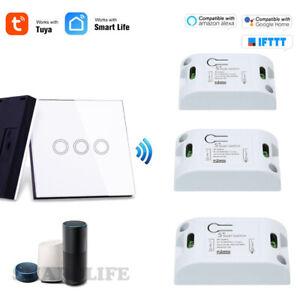 TUYA APP Wireless Smart Wifi RF Switch Module+433mhz Touch