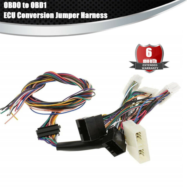 Obd0 To Obd1 Ecu Jumper Conversion Harness For Manual 5 Speed Honda Rhebay: Obd0 To Obd1 Conversion Motor Harness At Gmaili.net