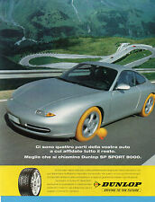 AUTO998-PUBBLICITA'/ADVERTISING-1998- DUNLOP SP SPORT 9000