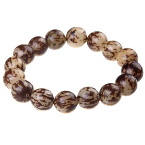 Neutre Bodhi Beads Ambre Motif Bouddha prière Balance élasticité bracelet