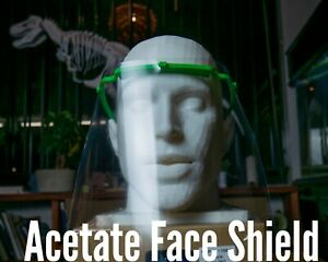 Ships Fast Made in USA Eye Safety Protection Face Shield Safety