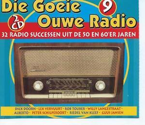 DUBBEL-2-CD-album-DIE-GOEIE-OUWE-RADIO-No-9-ROB-TOUBER-PETER-SCHILPEROORT