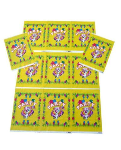 Loot Bags Clown Design Childrens Birthday Halloween Party Bags Pack of 24