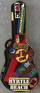 Hard-Rock-Cafe-MYRTLE-BEACH-2005-Guitar-Case-Series-HRC-PIN-L-E-300-Mint-New