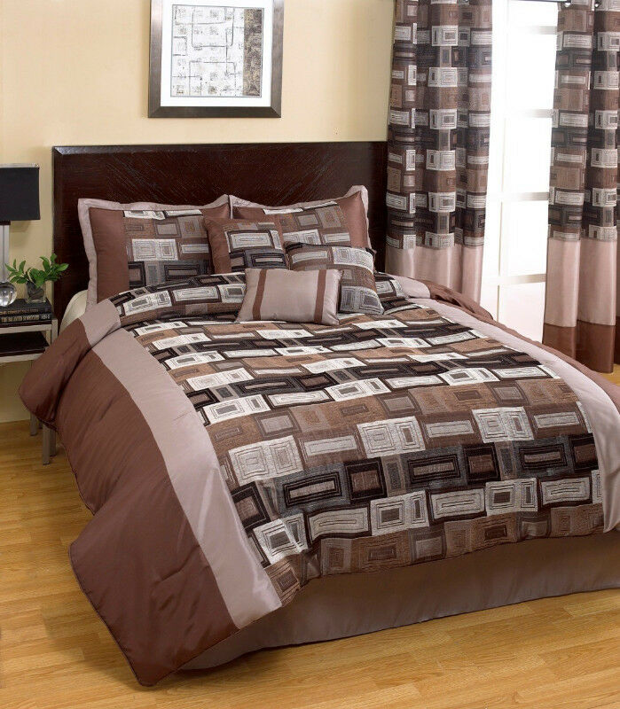 11 Piece Bed in a Bag set with 600 TC sheets