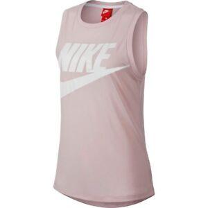 b99eb266a7481c Image is loading Nike-Sportswear-Essential-Tank-Top-Pink-Women