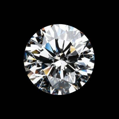 Loose Moissanite Stone GH color 3mm-12mm Round Excellent Cut VVS1 Clear White