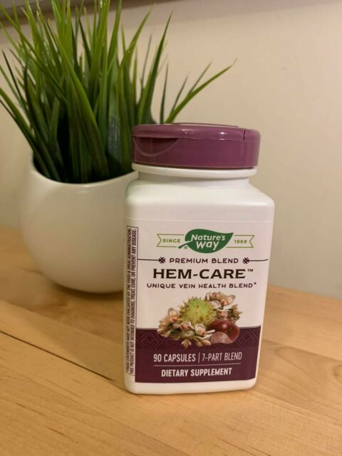 Nature's Way, Hem-Care, 90 Capsules Enzymatic Therapy Hem-Care Vein Tone