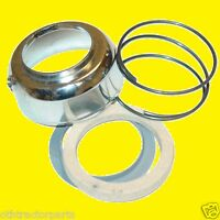 Ford Tractor 9n3669 Chrome Steering Column Cover Sping Felt Seal Kit 2n 9n