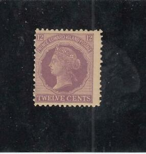 P-E-I-MK4595-16-F-MNH-12cts-QUEEN-VICTORIA-CENTS-ISSUE-VIOLET-1870