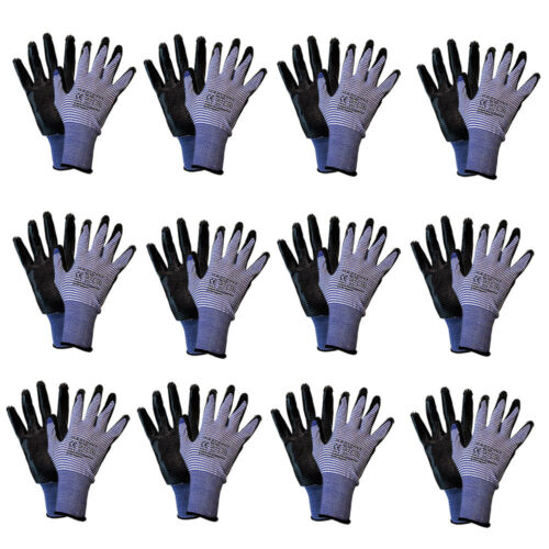 Aqua Grip Arbeitshandschuhe Nitril Handschuhe Allzweck-Handwerker Handschuh