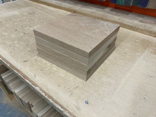 5 Pack of Solid Oak Wood Working Blanks for Joinery PAR Hardwood Timber Boards