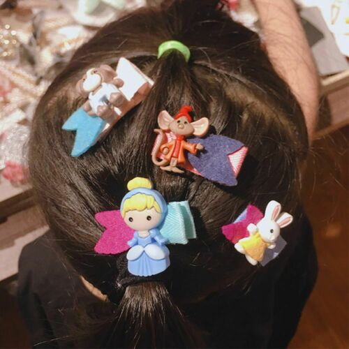 Children/'s Cartoon Animals Girl Hair Accessories Cloth Princess Headdress Lovely