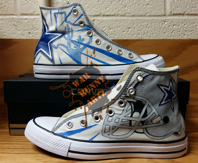 NFL Dallas Cowboys ~ Custom Converse All Stars Hand Painted Canvas Sneakers | eBay