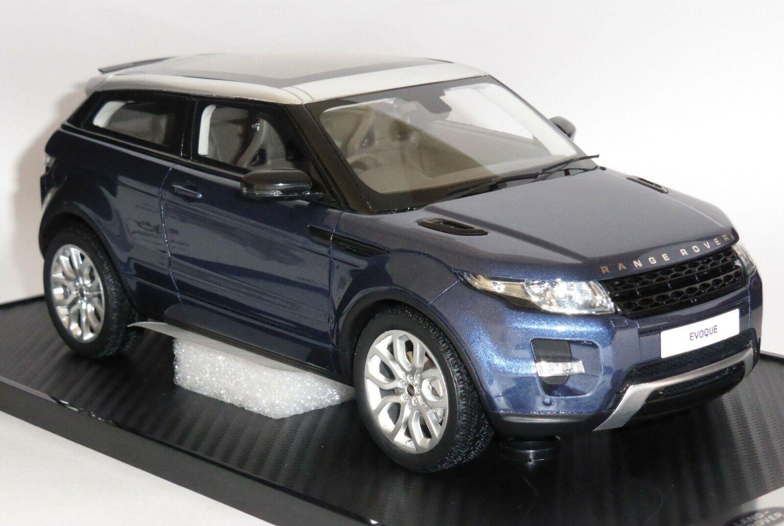 Range Rover font Baltic Bleu Résine  Collectionneurs modèle échelle 1 18 lrdrebb 118 G  différentes tailles
