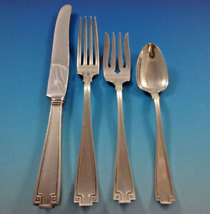 Etruscan-by-Gorham-Sterling-Silver-Flatware-Set-For-12-Service-48-Pieces