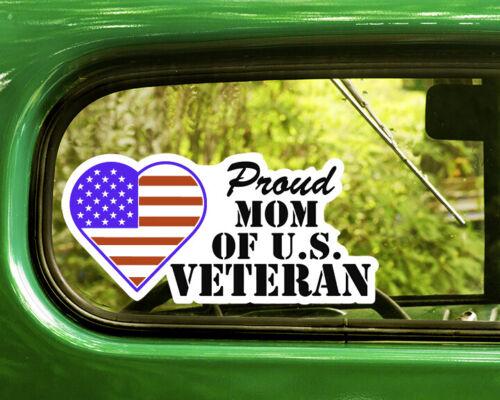 2 гордая мама американского ветерана наклейки наклейка автомобильного окна бампер ноутбук Rv 4x4