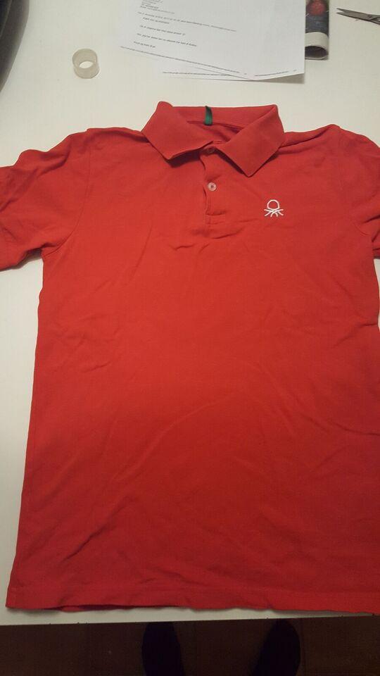 Polo t-shirt, Polo, Benetton