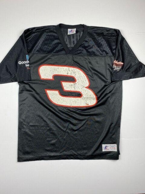 Vtg 90s Dale Earnhardt Sr Football Jersey Men U2019s Sz Xl Logo
