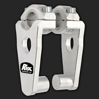 Rox 3 ½ Pivoting Snowmobile Handlebar Risers For 7/8 Or 1-1/8 Handlebars