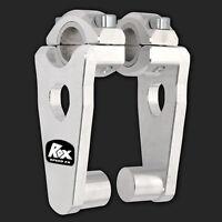 Rox 3 ½ Pivoting Snowmobile Handlebar Risers For 7/8 Or 1-1/8 Handlebars